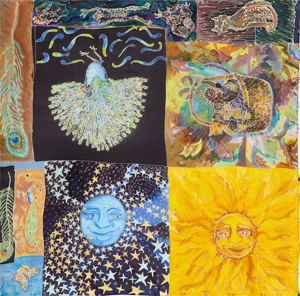 """""""Sun and Moon Montage"""" Limited Edition Giclee Print 00112"""