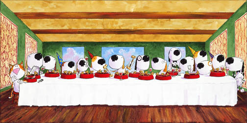 The Last Supper Bowl