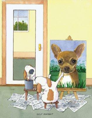 Self-Portrait Chihuahua