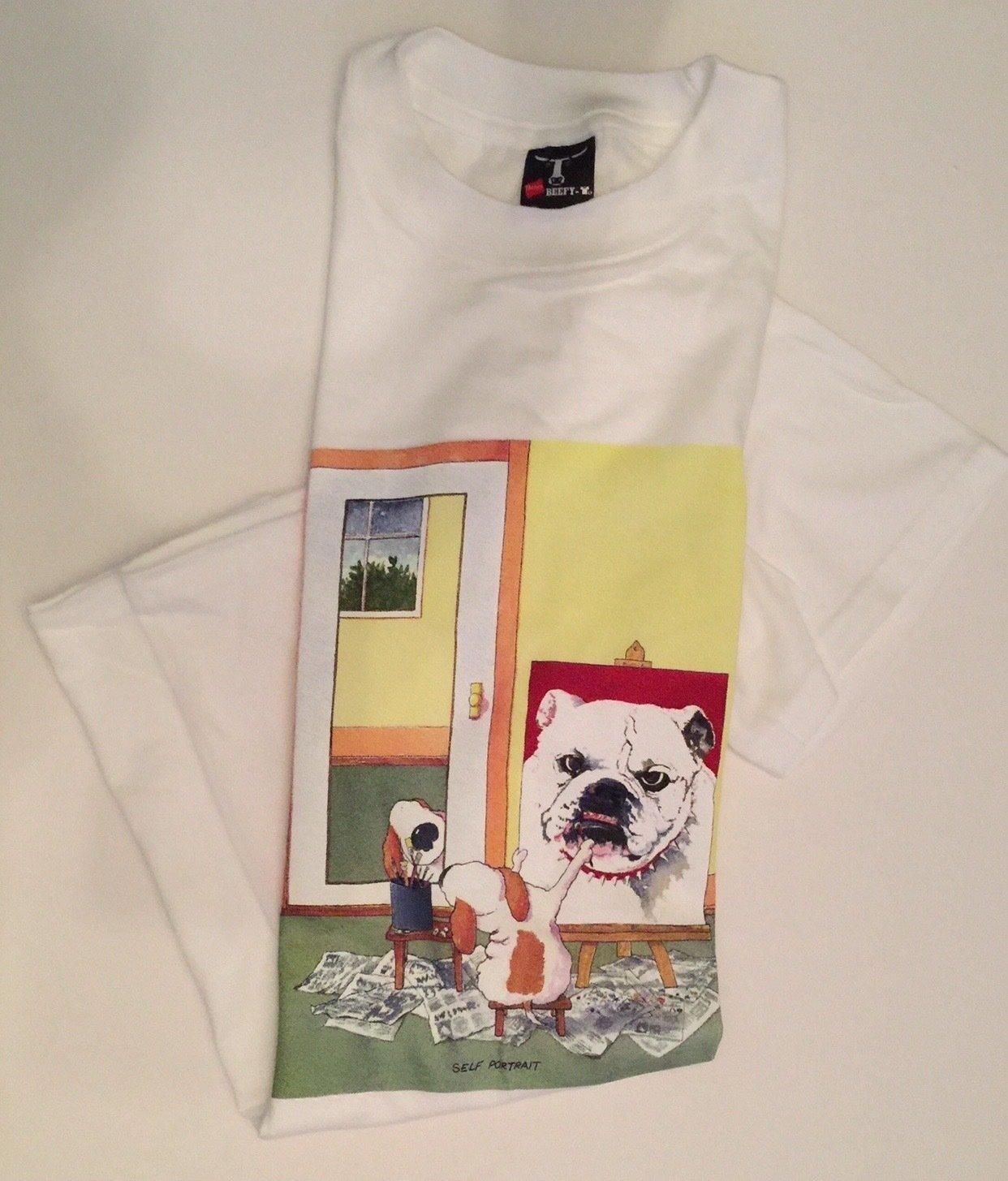 S/SBullDogT-ShirtLarge