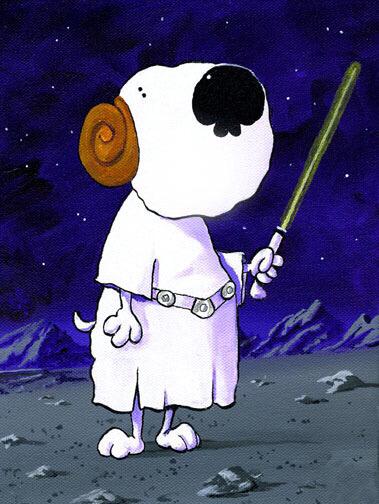 Princess Leia's Dog
