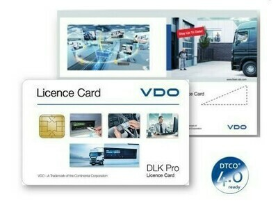 DLK Pro Licence Card Smart 4.0 ready