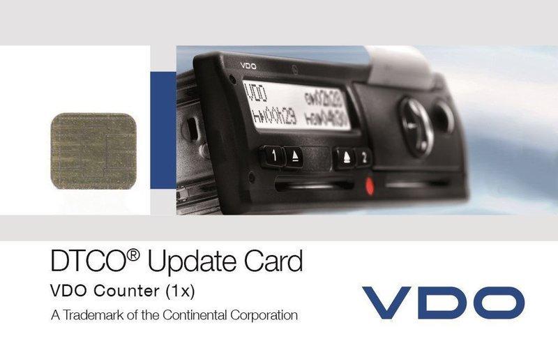 DTCO Update Card - activeer de VDO Counter