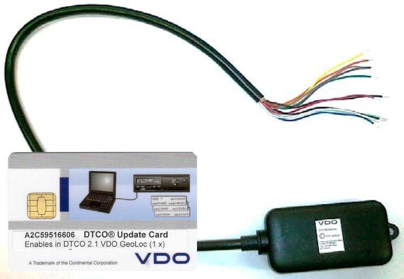 Bundel 1 x DTCO GeoLoc en 1 x Updatecard