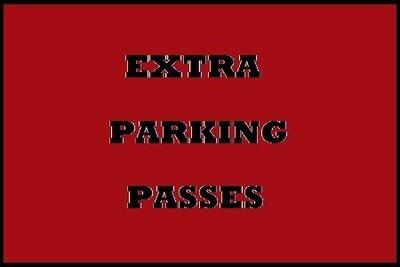 Additional Vendor Parking Pass