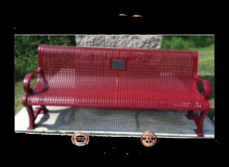 Park Bench (Engraved)