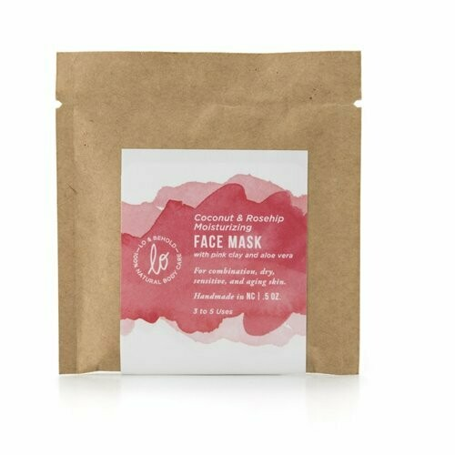 Face Mask - Coconut & Rosehip