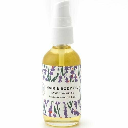 Hair & Body Oil - Lavender Fields