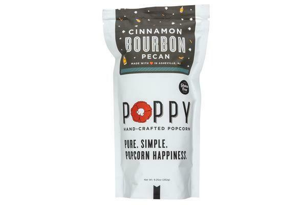 Poppy Popcorn Cinnamon Bourbon Pecan Popcorn