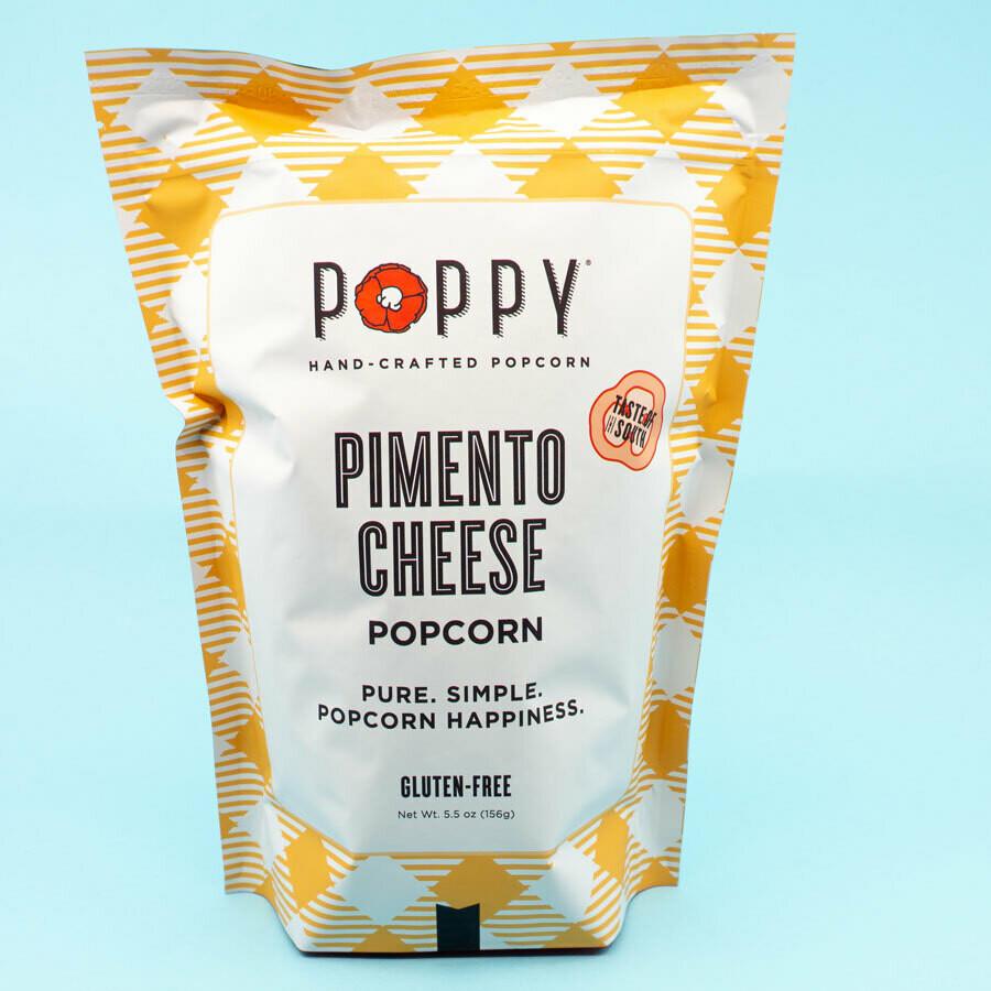 Poppy Popcorn Pimento Cheese Popcorn