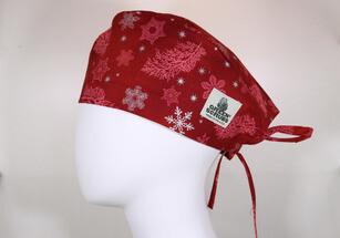 snowflakes scarlet
