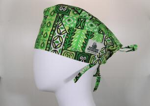 tropical aztec green