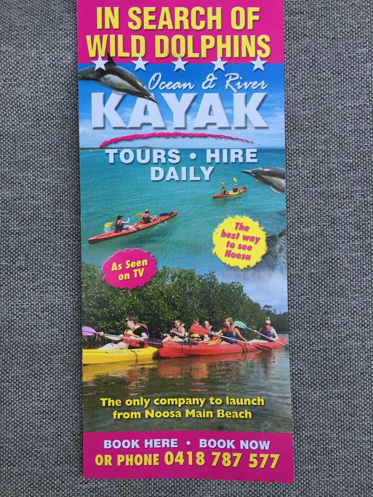 Noosa Ocean Kayak Tour