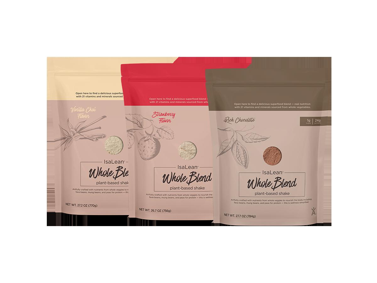 Plant base Whole blend IsaLean Shakes