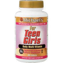 Michael's Teen Girls Tabs - 60 Tablets