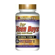 Michael's - Teen Boys Tabs - 60 Tablets