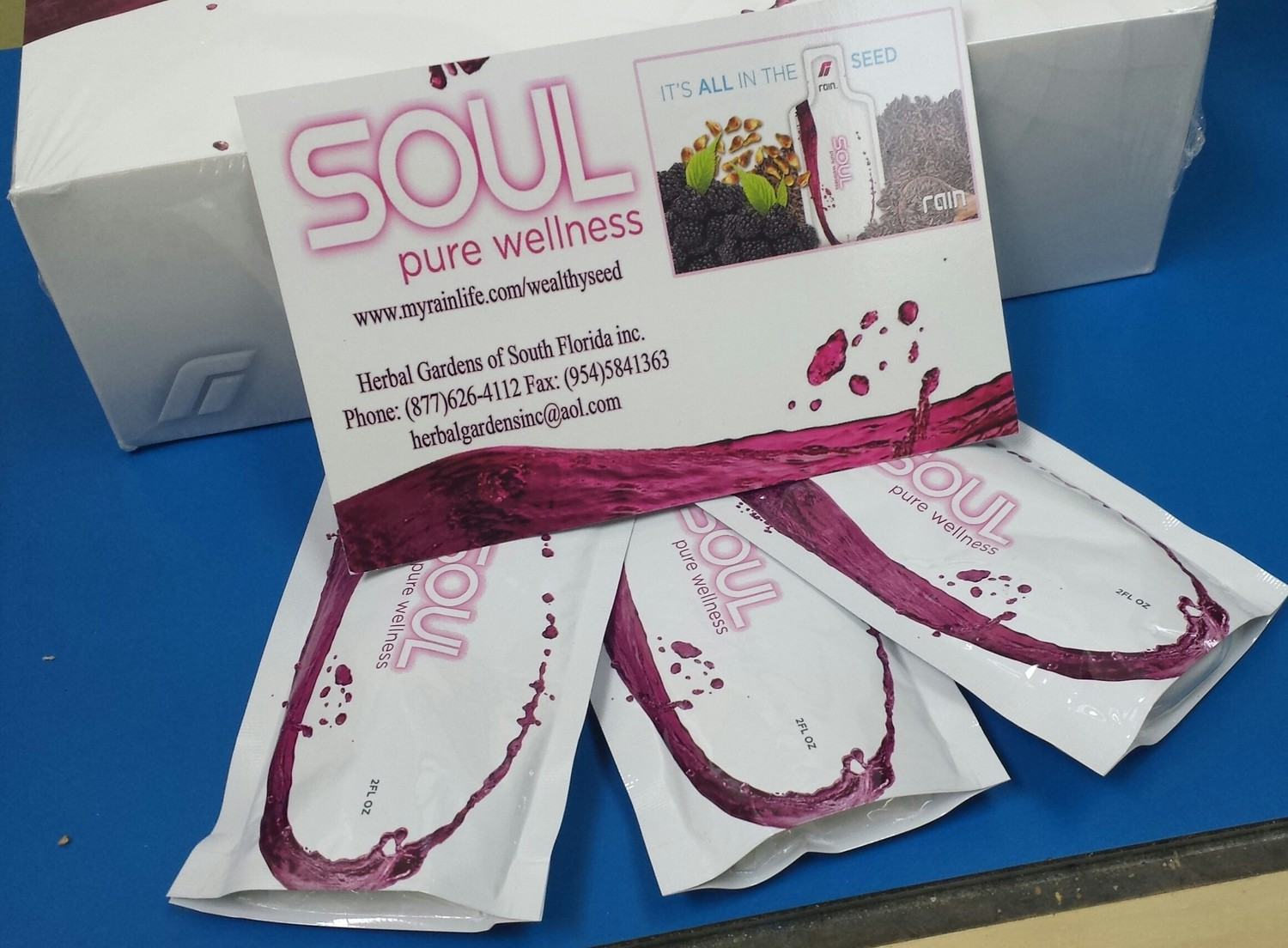 Soul Pure Wellness 4 Pack Trial Pack