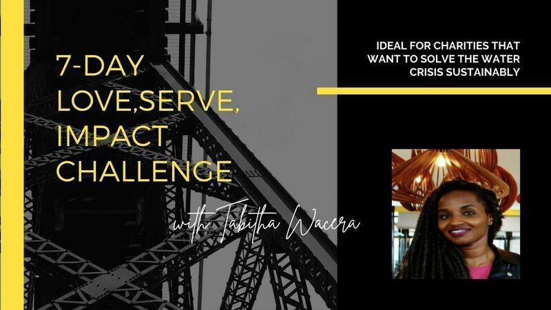 FREE 7-DAY LOVE,SERVE,IMPACT CHALLENGE
