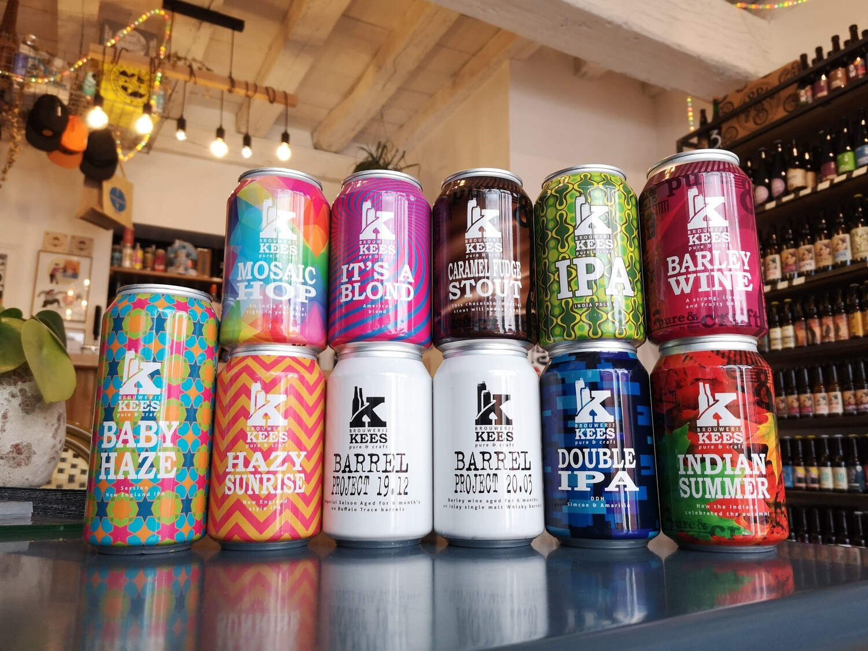 "Kees ""Full pack"" (11 bières)"