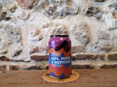 Love, Peace and Hoppiness Sour ale 6%