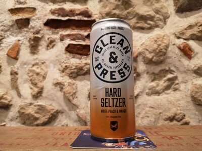 Brewdog Hard Seltzer, Peach+Mango 5%