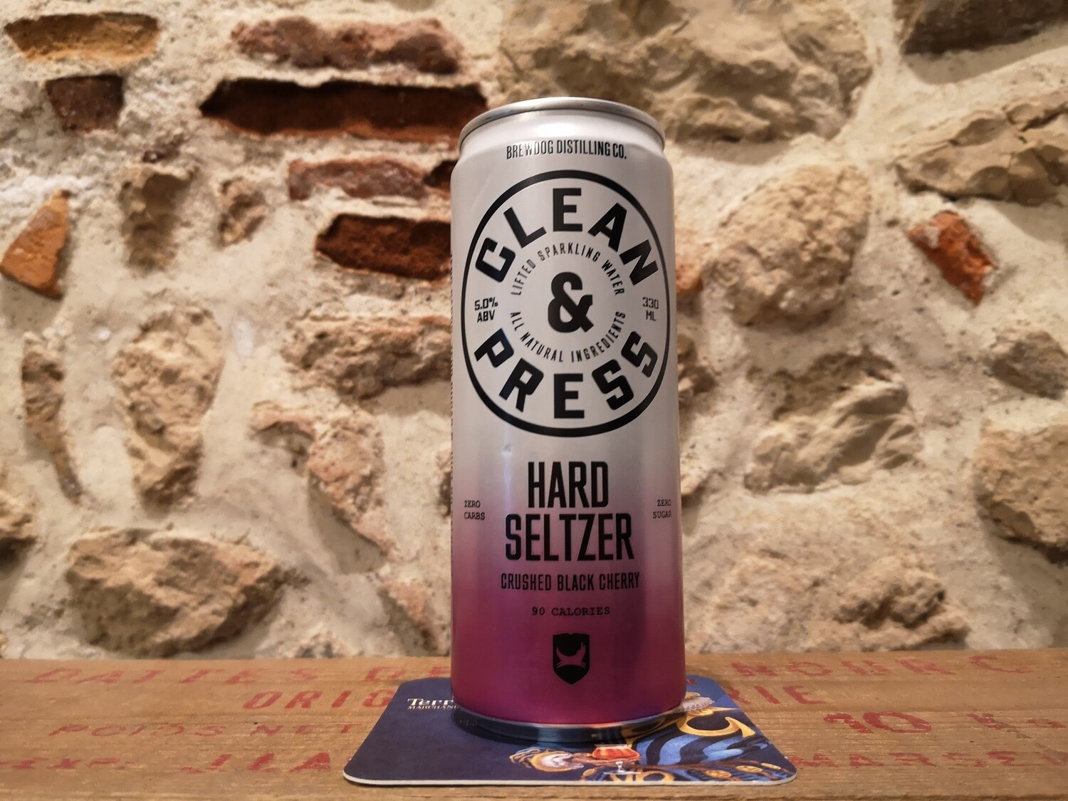 Brewdog Hard Seltzer, Black Cherry 5%