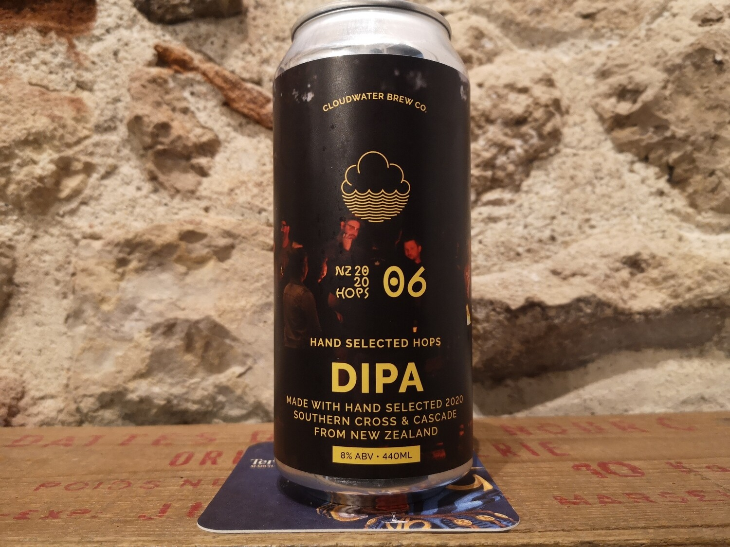 A fire By the Bines DIPA 8%