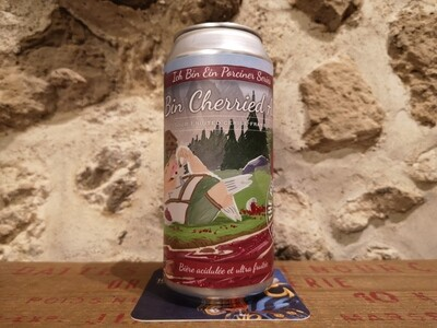 Cherried All Day Sour  Cerise+framboise 4%