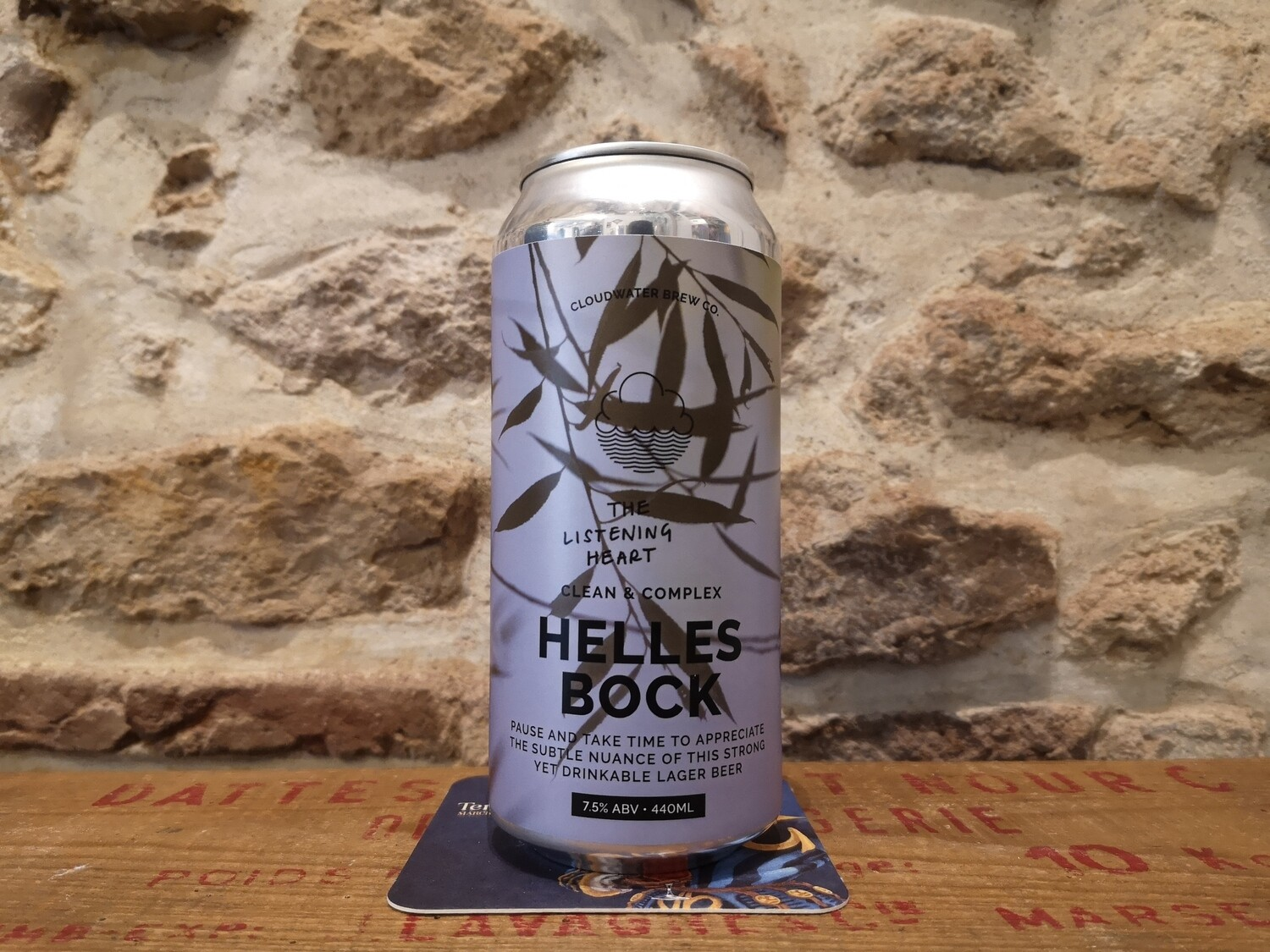 Helles Bock 7.5% (strong lager)
