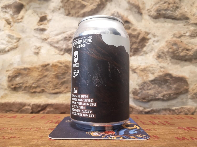 PP 1.06 Coffee stout à la prune 11%
