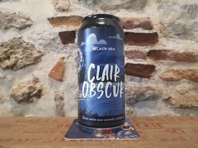 Clair Obscur, Black IPA 6,5%