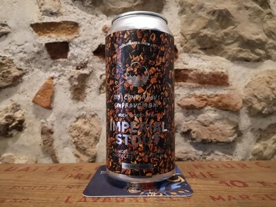 MCI imperial stout, 11%