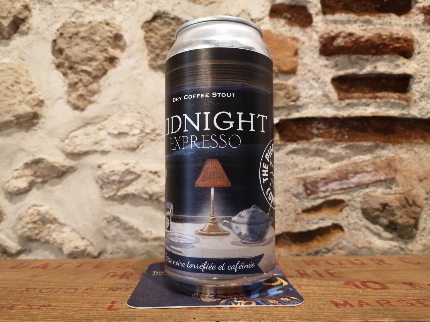 Midnight Expresso, coffee stout 6%