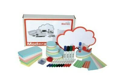 Moderatorenbox aus Karton