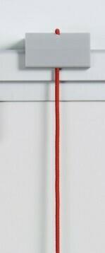 Datumslot rot, kürzbar zum verschieben im Business-Profil