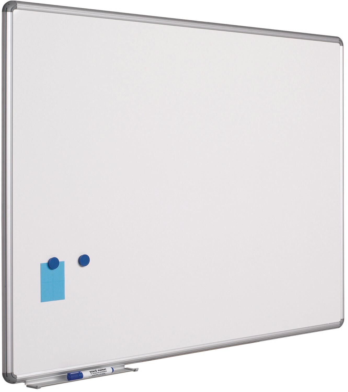 Emaillierte Schreibtafel im Design-Profil 60 x 90 cm