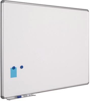 Emaillierte Schreibtafel im Design-Profil 120 x 300 cm