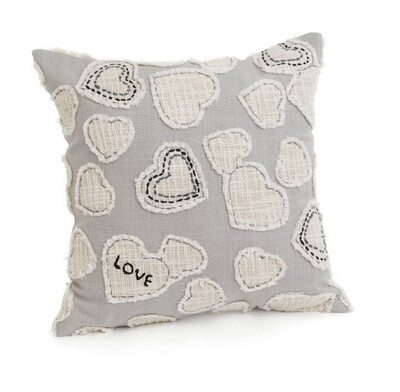 Cushion Hearts 17x17