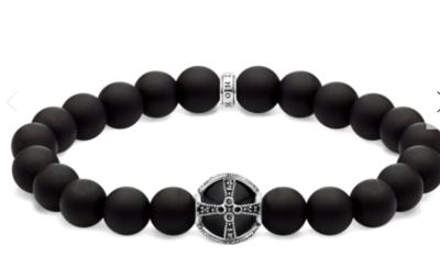 Bracelet Black Cross A1928-812-11