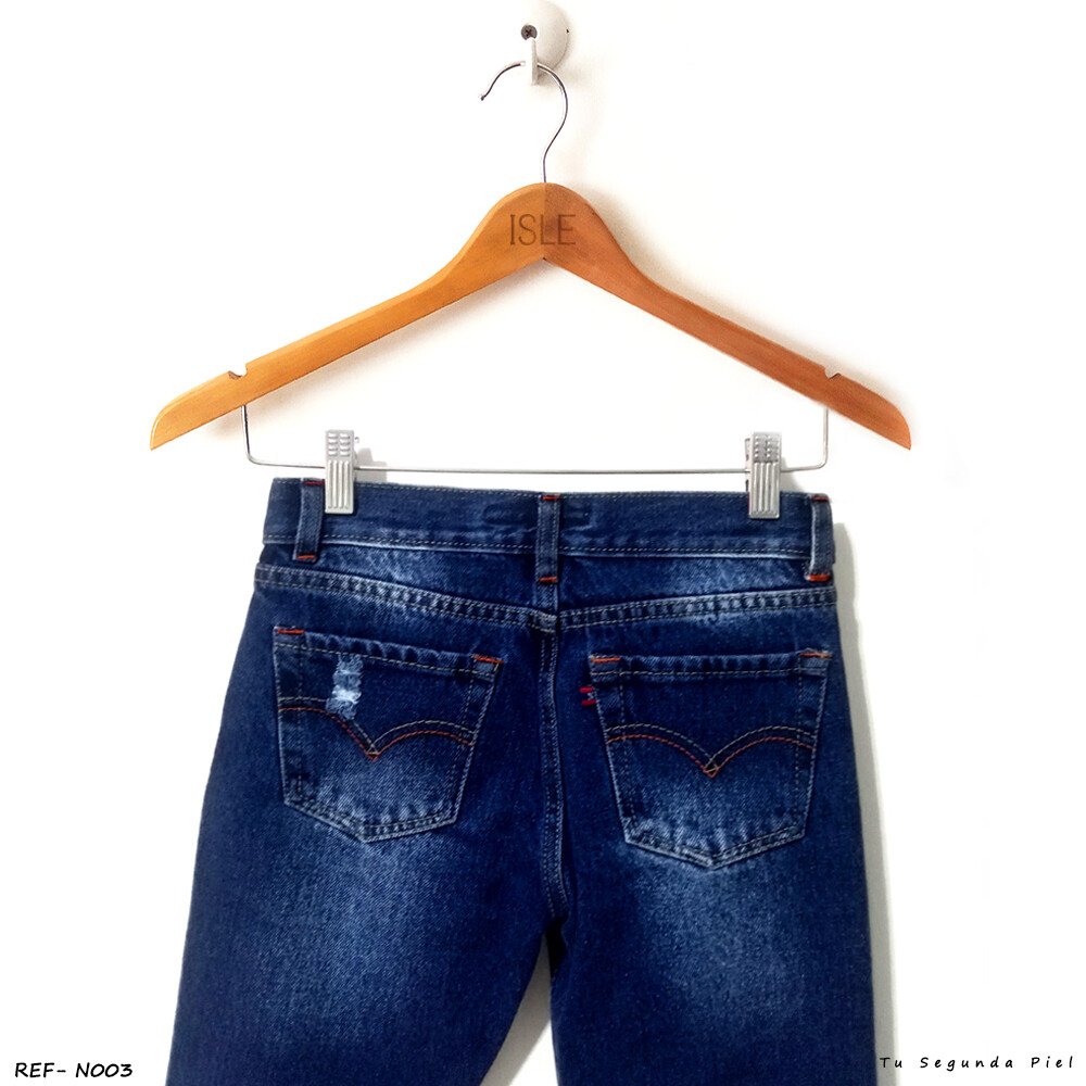 Pantalones Jeans Para Ninos Modelo Lewis Ref 003