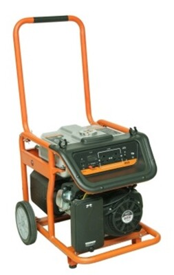 Tandem Generator - 12000 EC - Canopy frame - elec. St.
