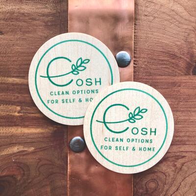 Cosh Wooden Sticker