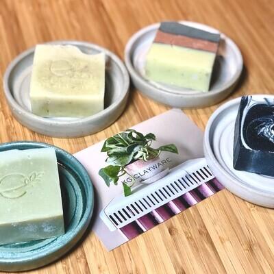 Cosh & Clay, Soap & Tray