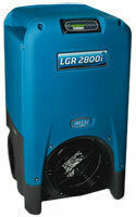 LGR 2800i Dehumidifier by Drieaz