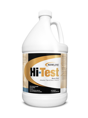 Hi Test (Gallon) by Newline   Premium Alkaline Stone and Tile Cleaner