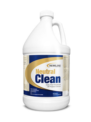Neutral Clean (Gallon) by Newline   Concentrated Neutral Hard Surface Cleaner