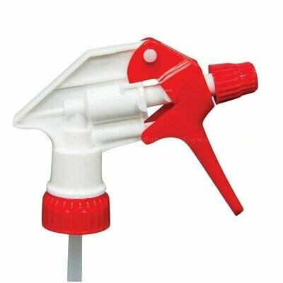 Red and White Trigger Sprayer Head | Water Base