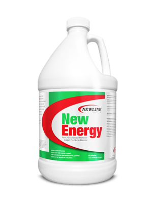 New Energy (Gallon) by Newline   Solvent Booster and Olefin Carpet Cleaner