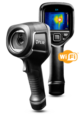 FLIR E4 Infrared Camera with MSX and Wi-Fi