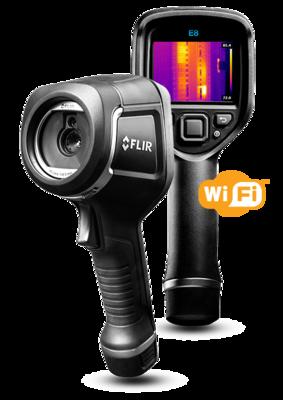 FLIR E8 Infrared Camera with MSX & Wi-Fi